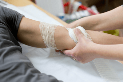 bandaging-arm
