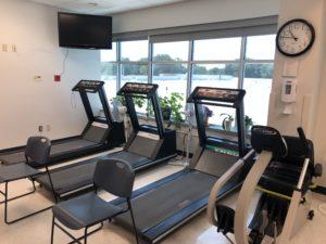 Outpatient Cardiac Rehabilitation Treadmills